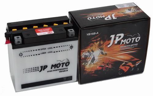 JP MOTO Y-CB16B-A 12V 16Ah 180A motorkerékpár akkumulátor