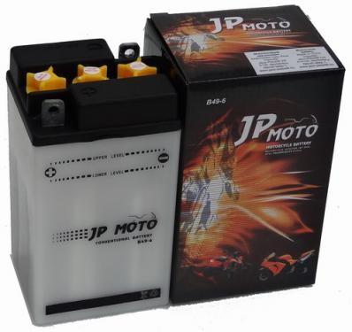 JP MOTO Y-B49-6 6V 10Ah 80A motorkerékpár akkumulátor