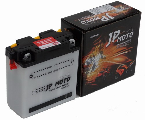 JP MOTO Y-6N11A-3A 6V 11Ah 88A motorkerékpár akkumulátor