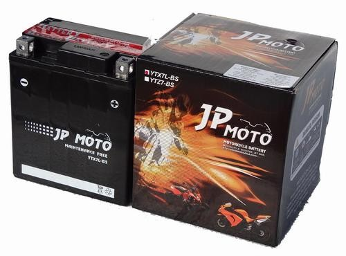 JP MOTO Y-YTX7L-BS 12V 6Ah 75A motorkerékpár akkumulátor