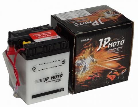 JP MOTO Y-6N4-2A-4 6V 4Ah 25A motorkerékpár akkumulátor