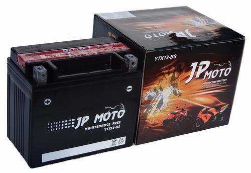 JP MOTO Y-YTX12-BS 12V 10Ah 160A motorkerékpár akkumulátor